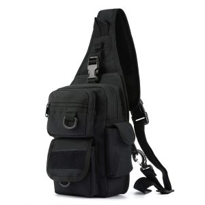 Barbarians Tactical Sling Bag Pack with Pistol Holster