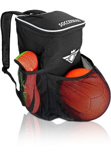 Soccerware Backpack with Ball Holder Compartment