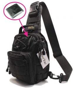 TravTac Stage I Small Premium EDC Tactical Sling Pack