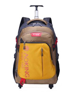 JollyChic Rolling Backpack