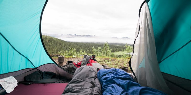 Best Backpacking Sleeping Bag Under $100