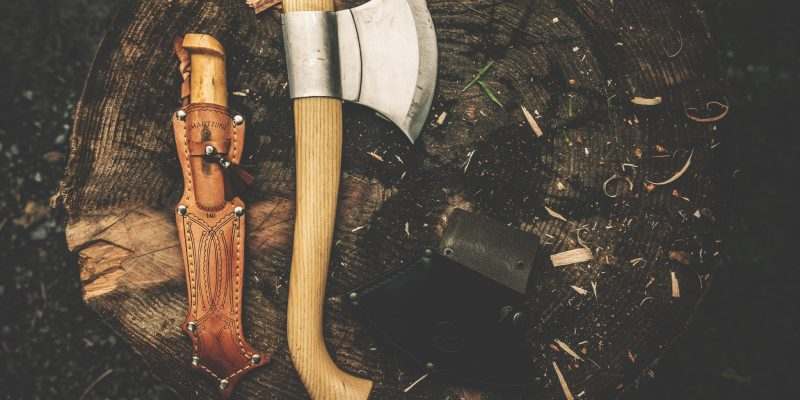 How Do You Sharpen a Hatchet When Backpacking