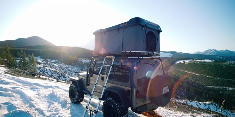 Best Roof Top Tent For Winter Camping [RTT for Snow]